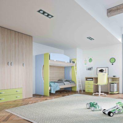 Mya - Cameretta bambino componibile e personalizzabile comp. 11 MAB