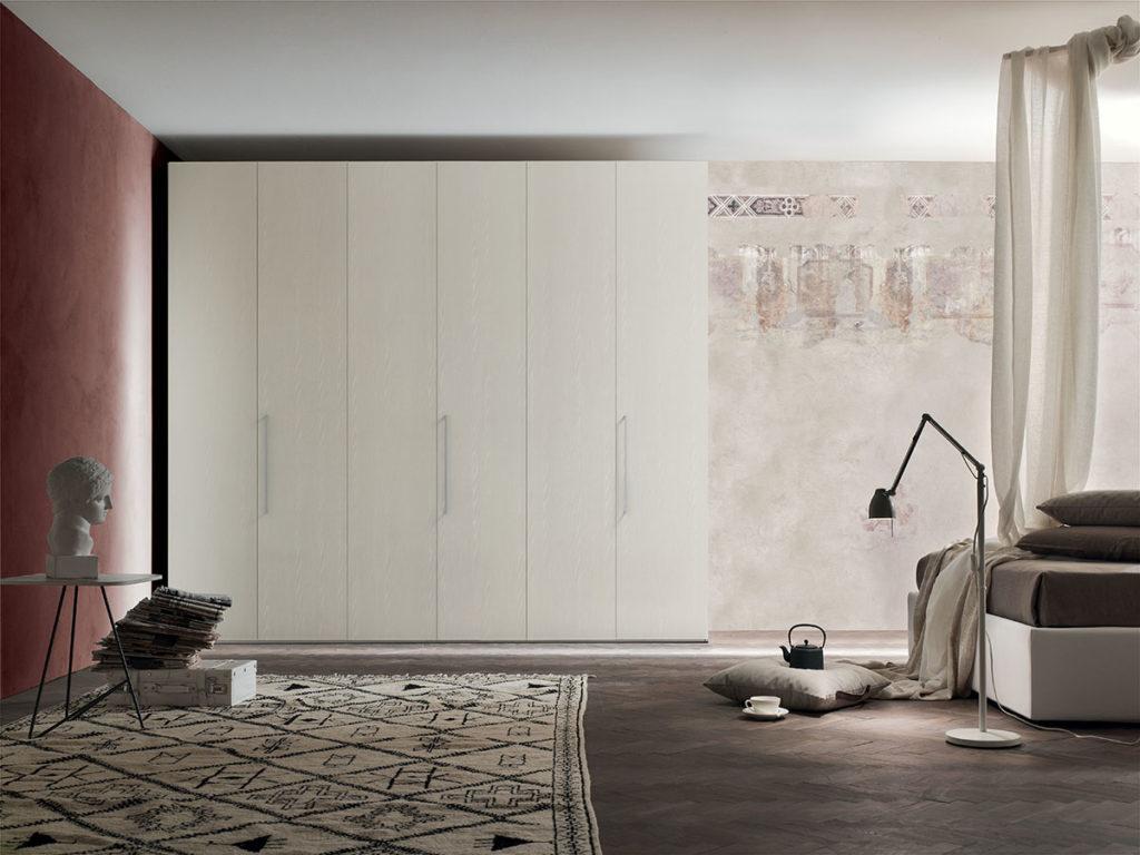 Door - Armadio battente 6 ante L 271,4 x H 249 x P 62,2 cm ...