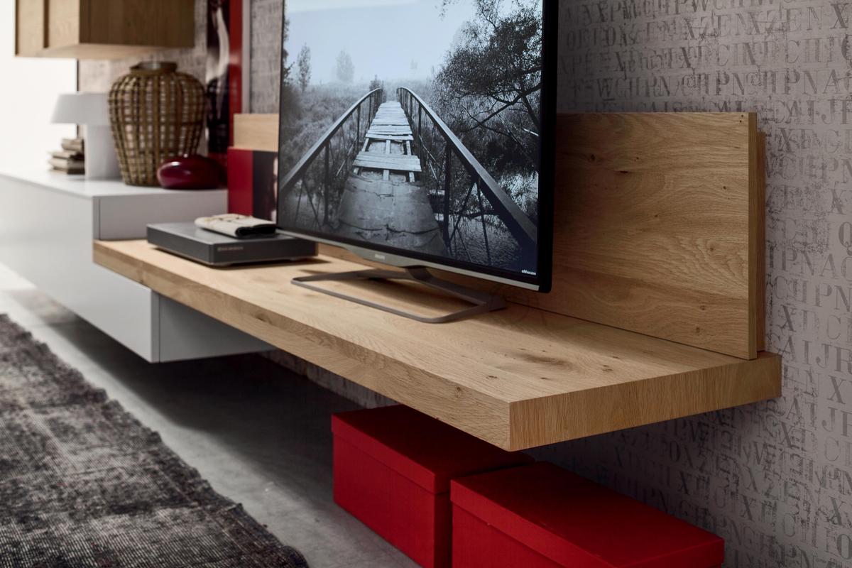 Seta SA1552 - Mobile soggiorno moderno componibile L 352,2 cm ...