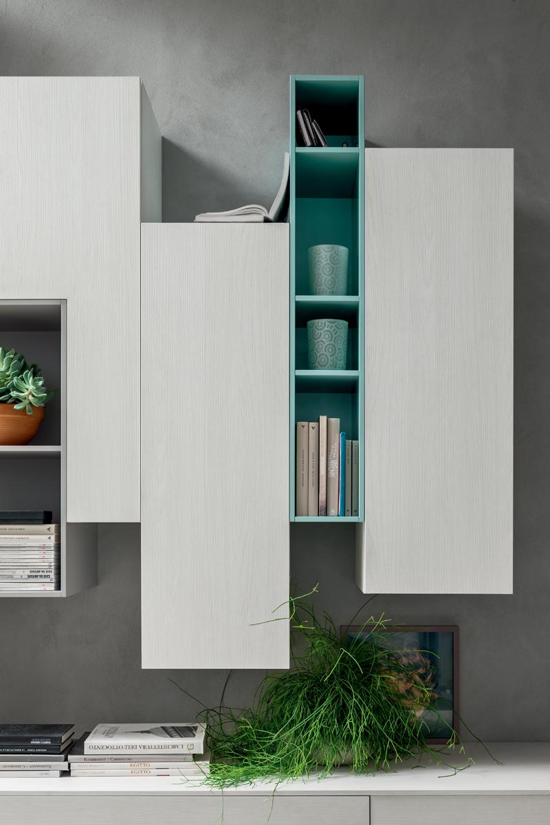 Mobile Soggiorno Componibile : Seta sa mobile soggiorno moderno componibile l