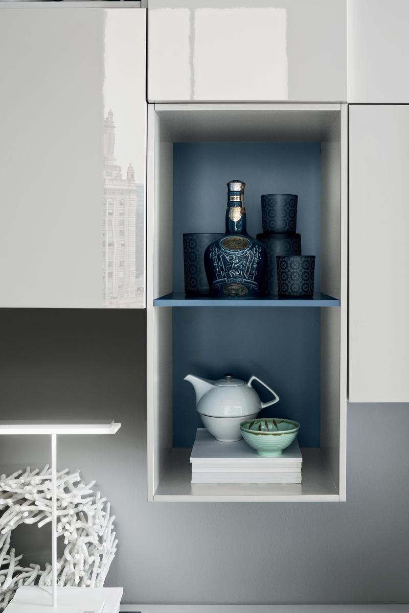 Seta SA1560 - Mobile soggiorno moderno componibile L 299,4 cm MARONESE ACF - INTERNO77 ...
