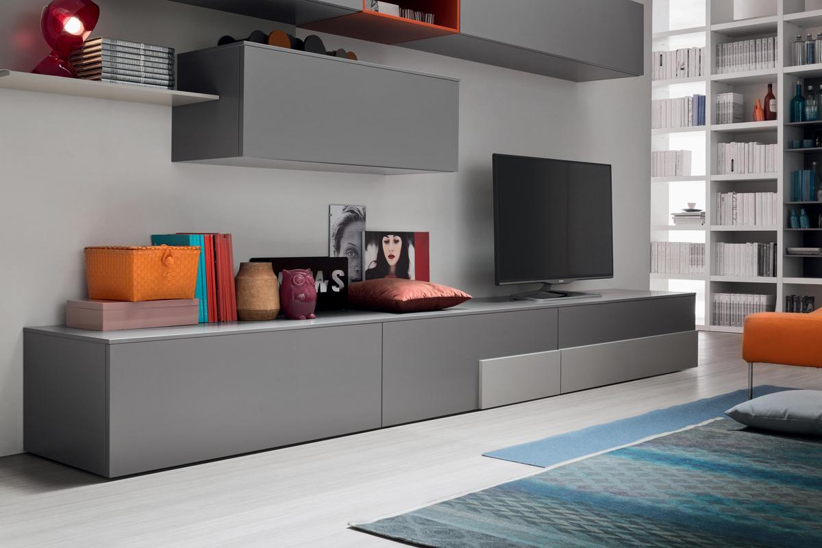 Seta sa1557 mobile soggiorno moderno componibile l 352 2 for Mobile soggiorno moderno