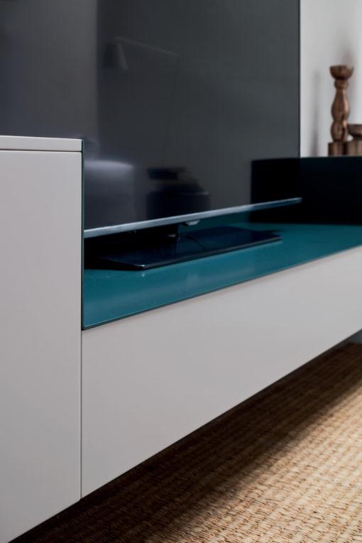 Seta SA1564 - Mobile soggiorno moderno componibile L 317,2 cm MARONESE ACF
