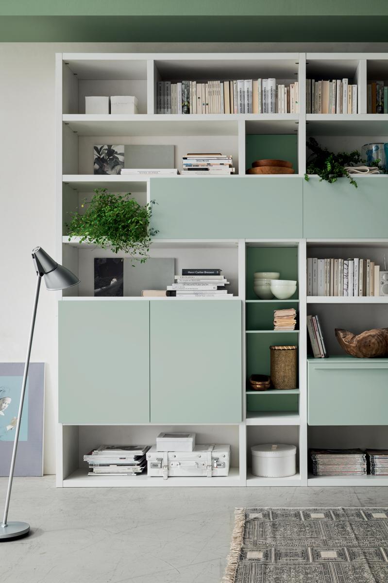 Seta sa1575 mobile soggiorno moderno componibile l 426 4 - Mobile soggiorno moderno ...