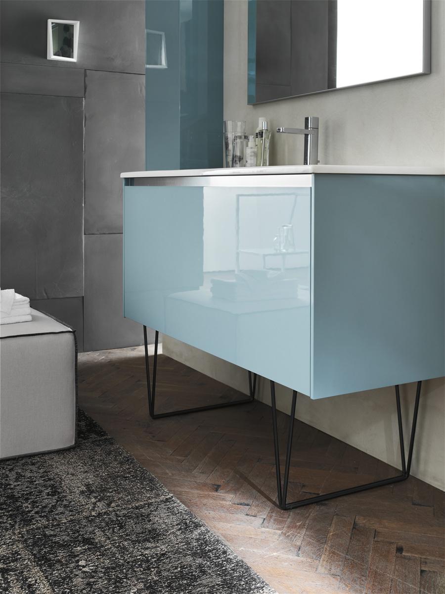 Ego 46 mobile arredo bagno l 120 x p 51 cm - Arcom mobili bagno ...