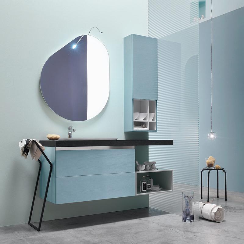 Ego 47 mobile arredo bagno l 135 x p 51 cm personalizzabile arcom interno77 soluzioni d 39 arredo - Mobili bagno ego ...