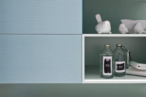 EGO 47 - Mobile arredo bagno L 135 x P 51 cm personalizzabile ARCOM