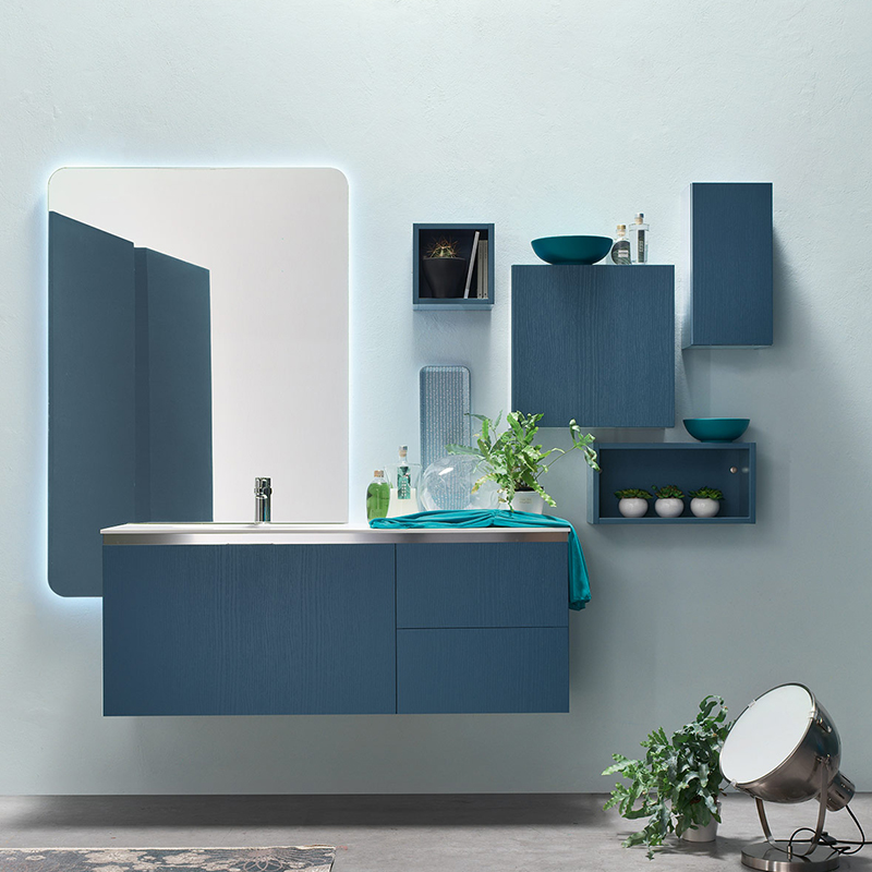 Ego 48 mobile arredo bagno l 161 x p 51 cm personalizzabile arcom interno77 soluzioni d 39 arredo - Mobili bagno ego ...