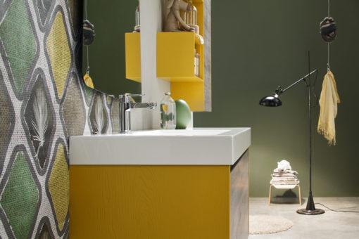 EGO 50 - Mobile arredo bagno L 120 x P 51 cm personalizzabile ARCOM