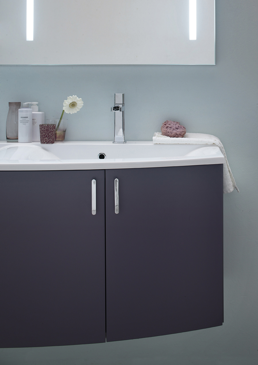 Ely 53 mobile arredo bagno l 140 x p 38 51 cm - Arcom mobili bagno ...
