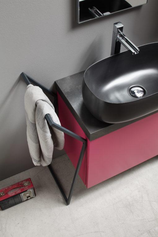 ELY 54 - Mobile arredo bagno L 100 x P 38 cm personalizzabile ARCOM