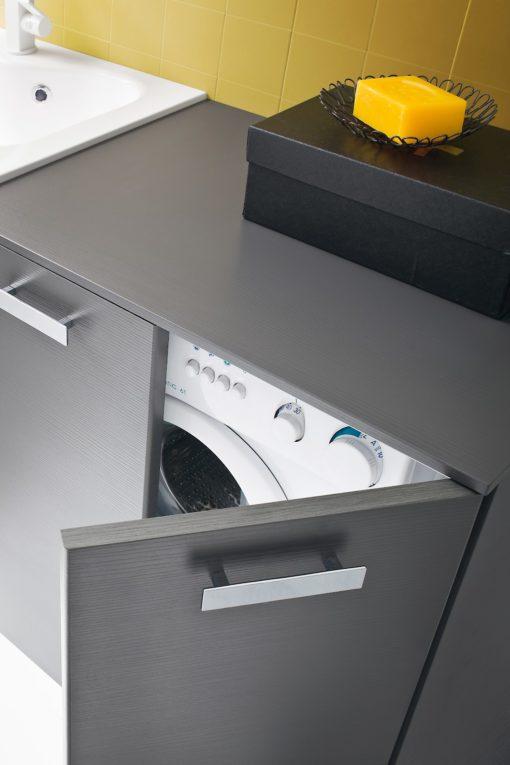 L08 - Mobile lavanderia L 190,5 x P 51/20,8 cm personalizzabile COMPAB