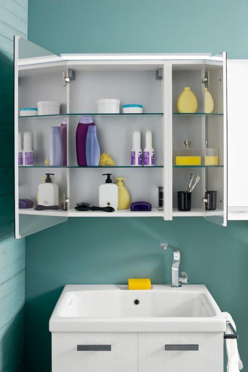 L014 - Mobile lavanderia L 145 x P 51/20,8 cm personalizzabile COMPAB