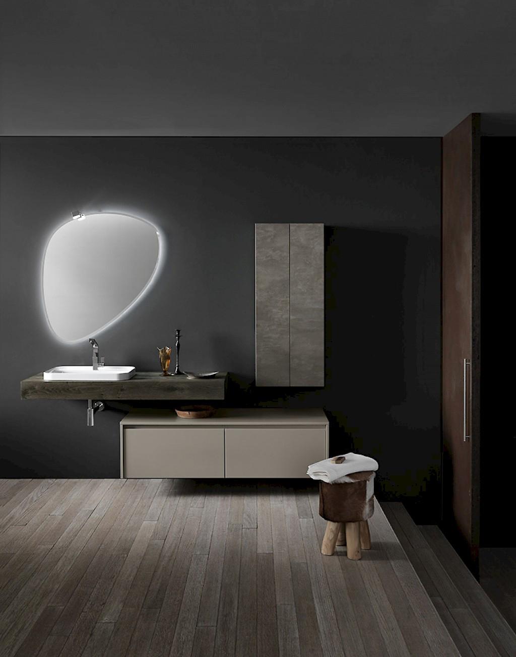 Ink nk01 mobile luxury arredo bagno l 212 x p 51 20 8 cm personalizzabile compab interno77 - Mobili bagno brianza ...