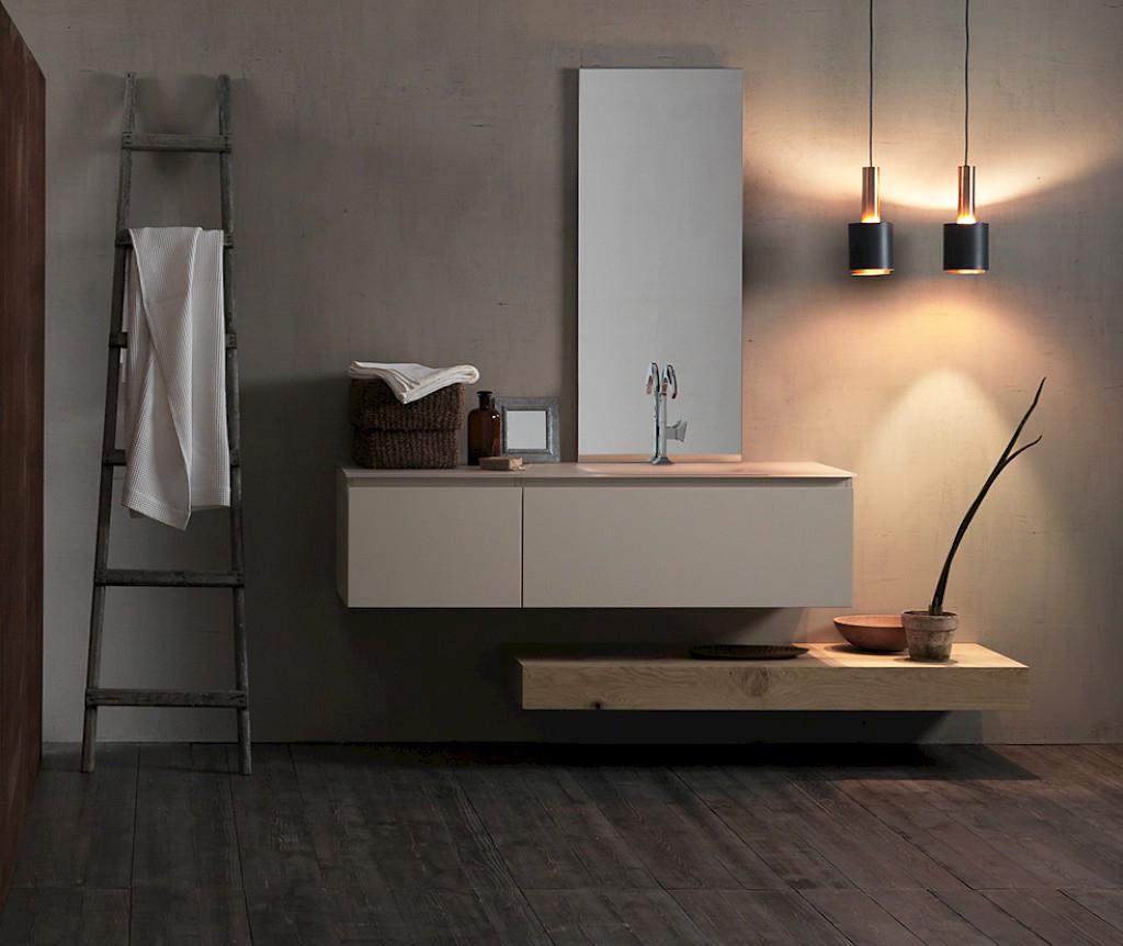 Ink nk14 mobile luxury arredo bagno l 195 x p 51 cm for Arredo casa bagno