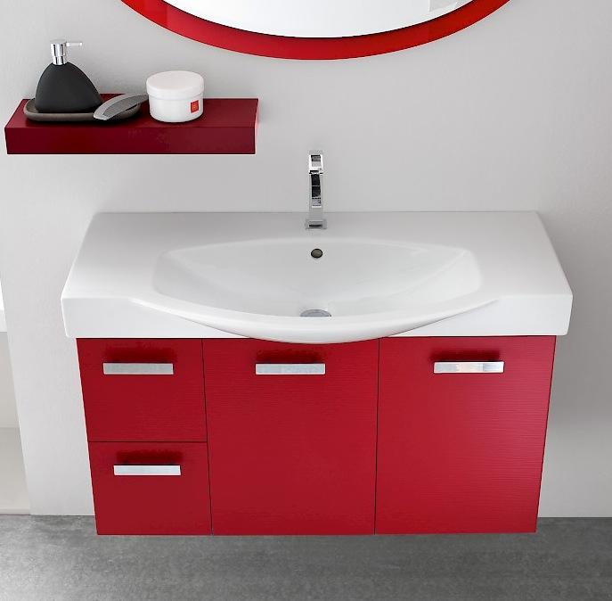 B201 g9 mobile arredo bagno con colonna cm for Mobile bagno p 35