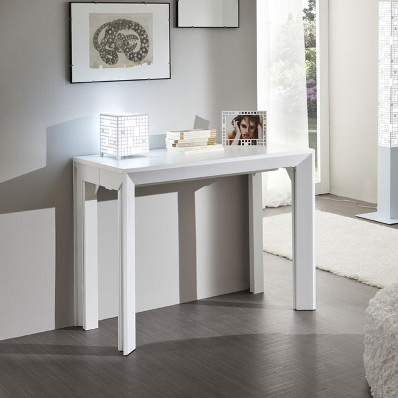 Franco tavolo consolle estensibile da 180 cm o 310 cm la for Consolle estensibili