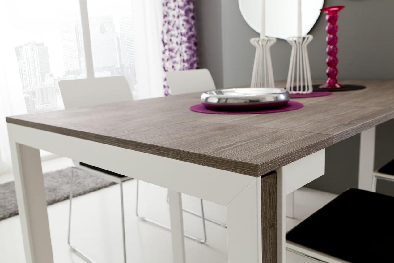 Mattia tavolo consolle estensibile da 180 cm o 310 cm la for Consolle estensibili
