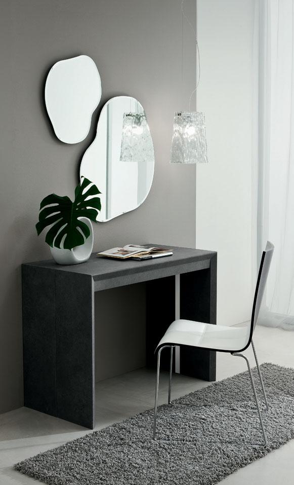 Paolo tavolo consolle estensibile da 180 cm o 311 cm la for Consolle estensibili