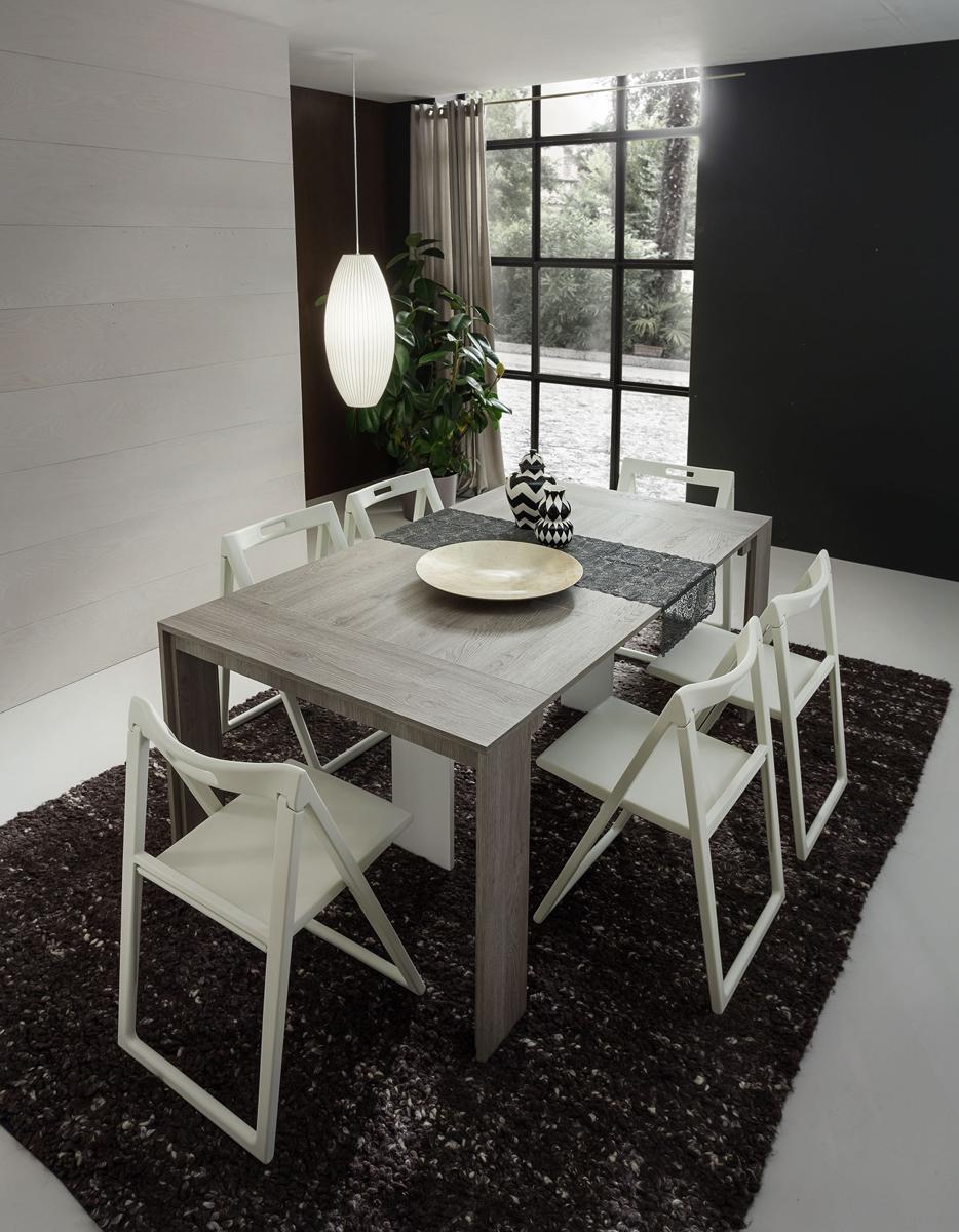Tony tavolo consolle estensibile da 180 cm o 310 cm la for Tavolo estensibile