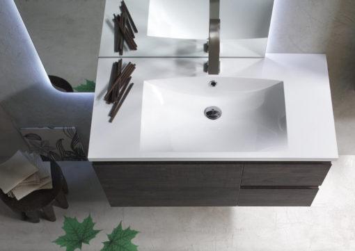 ELY J 37 - Mobile arredo bagno L 120 x P 51 cm personalizzabile ARCOM