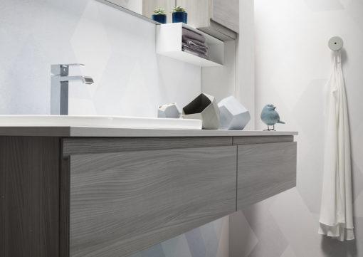 ELY J 66 - Mobile arredo bagno L 170 x P 51 cm personalizzabile ARCOM